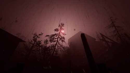 Outlast 2 review blood rain